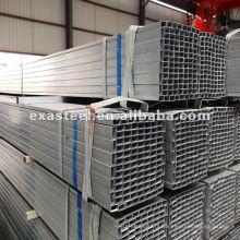 Tube en acier / tube carré en acier / tube en acier galvanisé