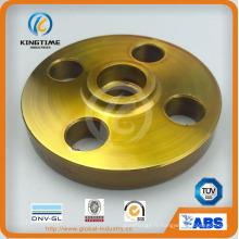 Bride forgée de bride de soudure de prise d'acier au carbone A105n avec TUV (KT0245)