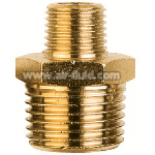 BSP Tapered Nipple Reducing Nickel Plated Brass Fittings