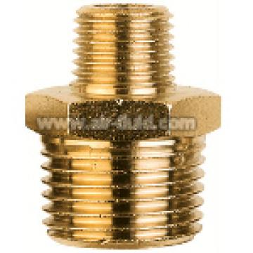 BSP Tapered Nipple Reducing Nickel Plated Brass Fittings