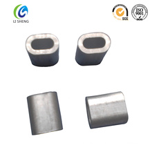 Oval alloy aluminum wire ferrule