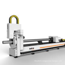 High Precision Cnc 1000W 2000W 3000W Fiber Laser Round Metal Pipe Cutting Machine