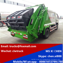 Made in China 3tons 4tons LHD Kompression Müllwagen