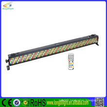 Factory wholesale 320*10mm indoor rgb led wall washer with remote control