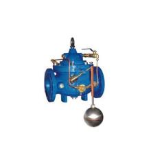 Válvula de nivel de agua con bridas de hierro fundido (GA100D)