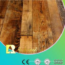 12.3mm HDF AC3 Embossed Oak V-Grooved Sound Absorbing Laminate Floor