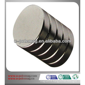 Rare Coin Permanent Neodymium Discs by China Supplier