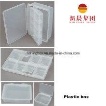 Clear Compartment Plastic Box