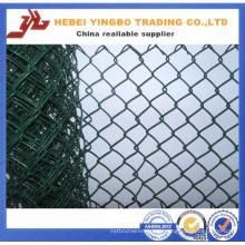 Yb-07 2016 nouveau prix bon marché PVC enduit haute résistance chaîne Link Clôture