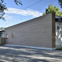 Painel de parede exterior do Wpc / tapume composto da parede exterior