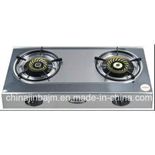 2 Burner Whirlwind Cap Stainless Steel Gas Cooker