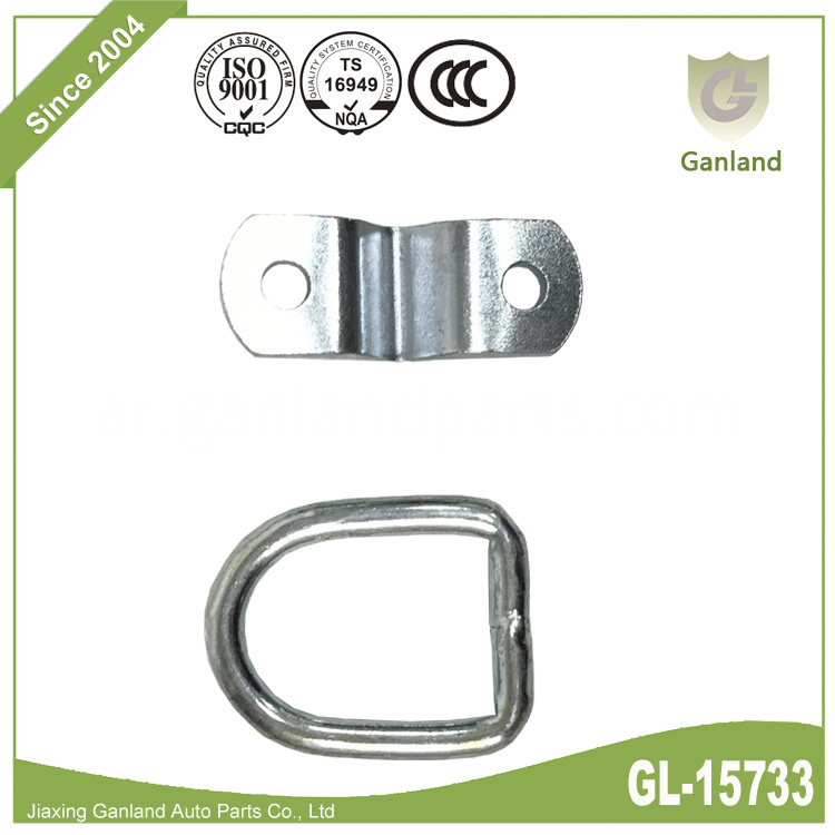 Lashing D Ring On Plate GL-15733