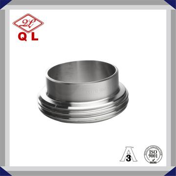 Sanitário SUS 304 316L Aço Inoxidável DIN União Masculina