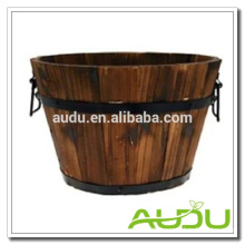 Audu French Wood Planter/Wooden Planter/Wood Flower Planter