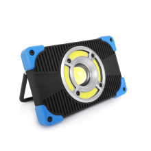 Bluetooth sound Manufacturer Supply 2*18650 Battery Operated Waterproof Power Bank USB Rechargeable 10W Cob led Work Light for Auto Repair