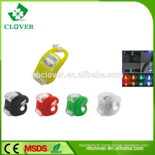 Silicone material CE available 2 led bicycle front light