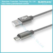Cable de datos micro USB de carga rápida para Samsung Android Phone