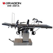 Cama cirúrgica hidráulica ajustável qualificada DW-3001A para a venda