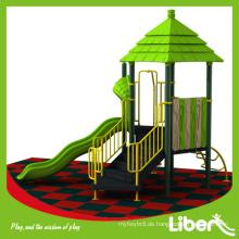 Liben Spiel Attraktive hausgemachte Outdoor Spielplatz mit Gummi Matten Fußboden