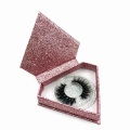 Glitter Custom Lashes Packaging Diamond Shaped Box