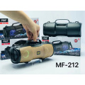 2021 New Arrivals MF212 Wholesale Outdoor Portable Mini Speaker Subwoofer Sound Box With LED Light