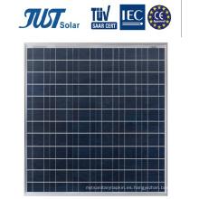 Panel solar polivinílico de 125 vatios, energía solar para el mercado de Medio Oriente