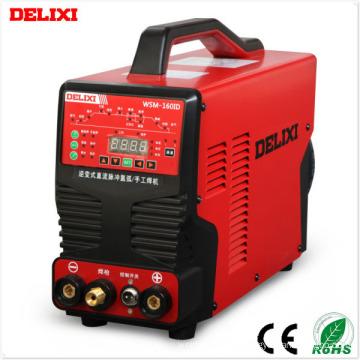 Máquina de soldadura TIG de pulsos digitales de la serie Delixi (WSM-200ID)