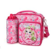 Hot Sales Waterproof Insulated Cooler Bag Princess Girls Kids Lunch Bag for School