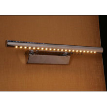 Modern LED Wall Lamp Stainless Steel Mirror Light for Washroom