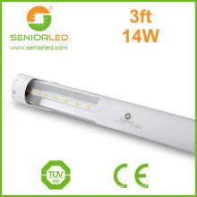 Strip 3528 T8 tubo de LED com tampa de plástico