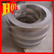 Anillo de titanio de tamaño personalizado Gr3 con alta calidad