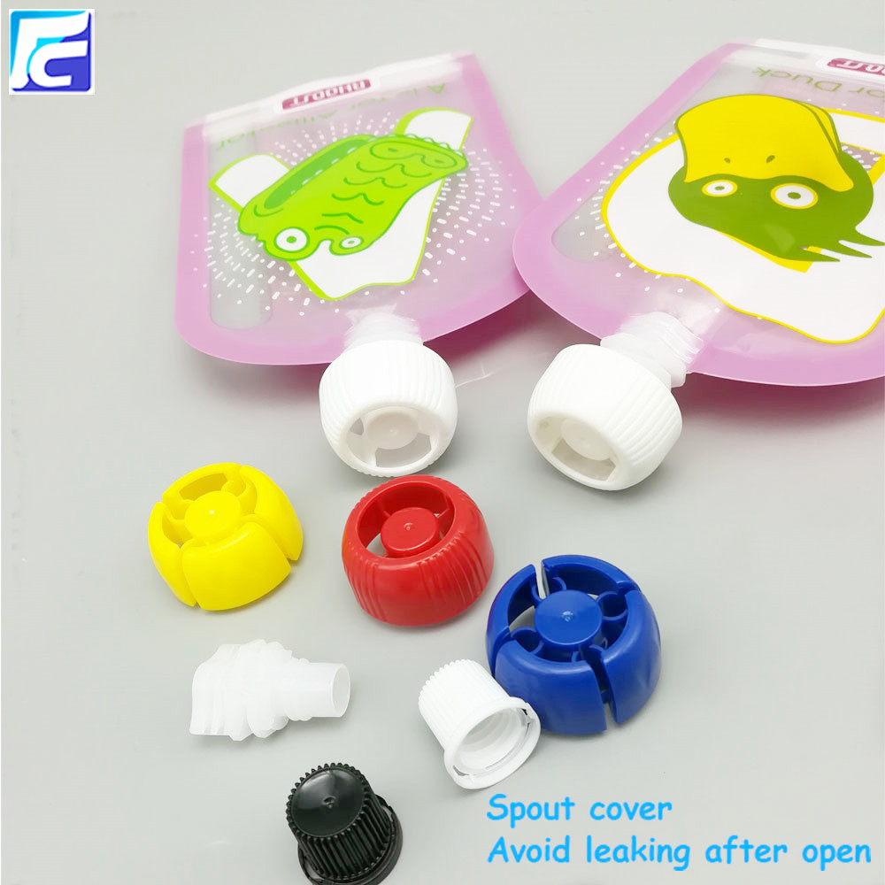Reusable baby food spout pouch