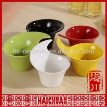 Cerâmica cor bakeware quadrado tigela tigela tigela