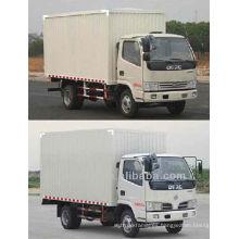 Dongfeng 4x2 camión de cargo para la venta, furgoneta de cargo camión precio