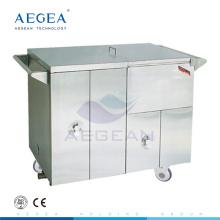 AG-SS035D Mahlzeiten wärmer Essen medizinische Stahl Instrument Krankenhaus Essen Trolleys