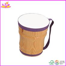 2014 nouveau et Popualr enfants Drum Set, Cheap Hot Sale enfants Drum Set et Happy Wooden Kids Drum Set W07j010