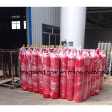 68L Empty Extinguisher Cylinder (CO2 kind) with Special Fire Suppression Valve and Cap