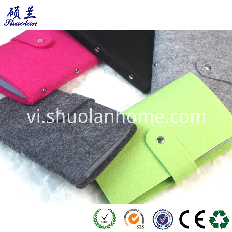 Customized Size Felt Card Holder
