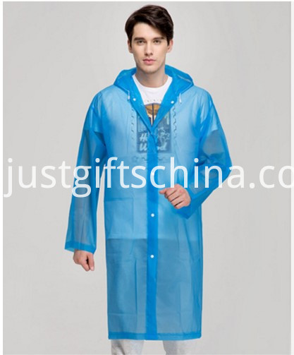 Promotional Logo Imprinted Raincoats
