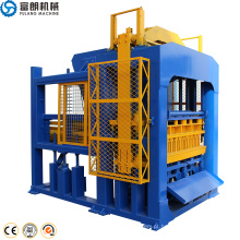 QTF 10-15 bloco de concreto totalmente automático que faz a linha da máquina