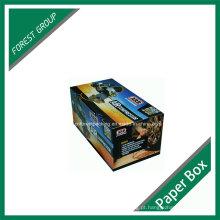 Caixa de cartão de impressão a cores de estilo normal