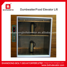 100-300KG billig Dumbwaiter Aufzug Lebensmittel Aufzug