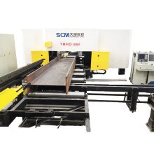 Steel-framed Building H Beam Drilling Machine