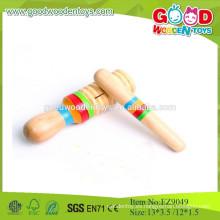 2015 mini juguetes musicales para niños, pequeño castaño de madera simple