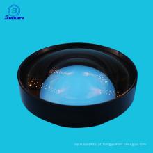 Lente esférica de vidro óptico BBAR 400-700nm