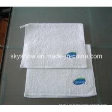 Toalla de algodón bordadas customed de la insignia