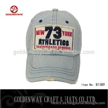 Gorras de béisbol de verano al por mayor con logotipo personalizado
