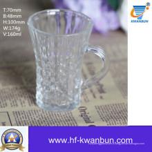 Verre clair Coupe Tasse à bière Tasse à café Ustensiles de cuisine Kb-Jh6019