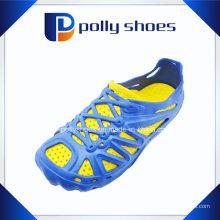 Zapatillas EVA de los hombres de la manera de los colores del doble de la manera