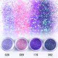 Nuevo arco iris grueso / brillo iridiscente para cosméticos (esmalte de uñas, lápices labiales, sombras de ojos), festival / artesanía navideña, etc.
